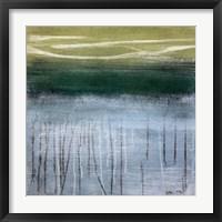 Framed Shoreline Memories I