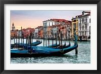 Framed Dawn in Venice