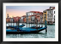 Framed Dawn in Venice