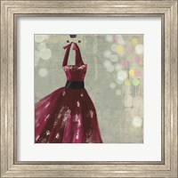 Framed Fuschia Dress II