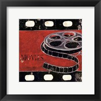 Movie clips - mini Framed Print