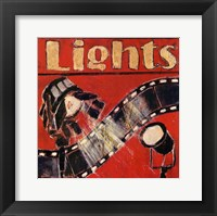 Lights - mini Framed Print