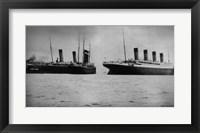 R.M.S. Titanic Framed Print
