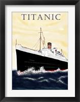 Framed Titanic Poster