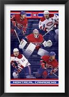Framed Canadiens® - Team 10