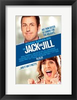 Framed Jack and Jill