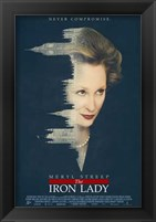Framed Iron Lady