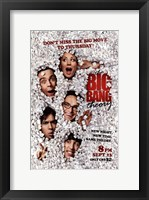 Framed Big Bang Theory - don't miss the big movie to Thursday
