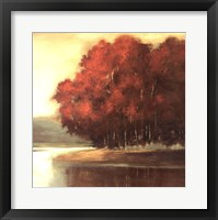 Touch of Red Framed Print