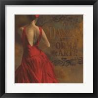 Framed La Dance I