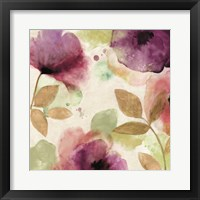 Watercolour Florals II Framed Print