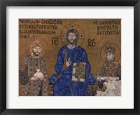 Framed Christ and Rulers