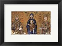 Framed Virgin and rulers