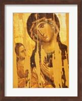 Framed Mother of the God Hodegetria