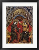 Framed Coronation of the Virgin