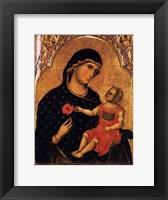 Framed Madonna of the Poppy