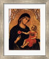 Framed Madonna of the Poppy
