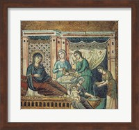 Framed Nativity of the Virgin