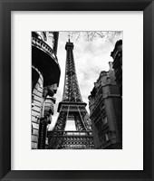 Eiffel Tower I Framed Print