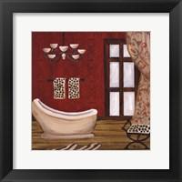 Framed Palm Beach Bath III