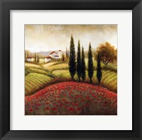 Framed Flourishing Vineyard I