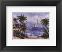 Framed Sailboats Adrift
