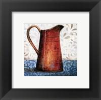 Red Pots II Framed Print