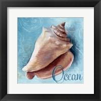 Framed Ocean - blue