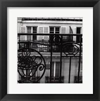 Paris Hotel II Framed Print