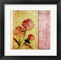 Framed Vintage Diary Square II