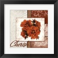 Framed Cherish