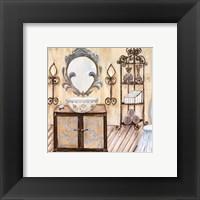 Framed Chateau Bath II