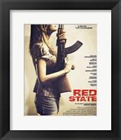 Framed Red State