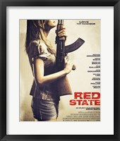 Framed Red State