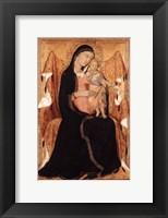 Framed Virgin and Child