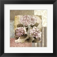 Framed Botanical Hydrangeas