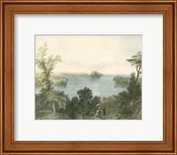Framed Saratoga Lake, New York
