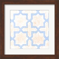Framed Garden Tile I