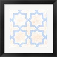 Framed Garden Tile I