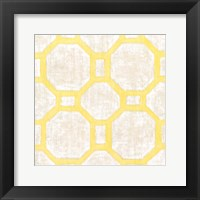 Framed Garden Tile V