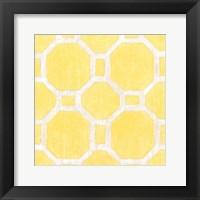 Framed Garden Tile VI