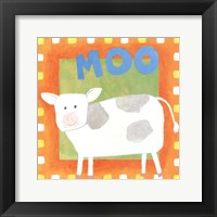 Framed Moo