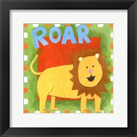 Framed Roar