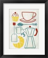 Sunday Brunch Framed Print