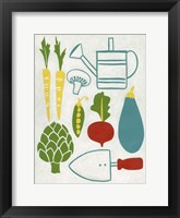 Sunday Garden Framed Print