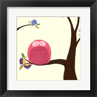 Orchard Owls VI Framed Print