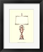 Boudoir Lamp I Framed Print