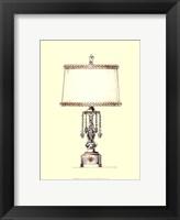 Boudoir Lamp II Framed Print