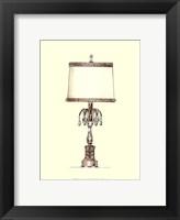 Boudoir Lamp IV Framed Print