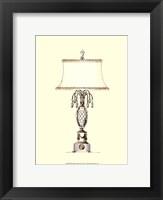 Boudoir Lamp VI Framed Print